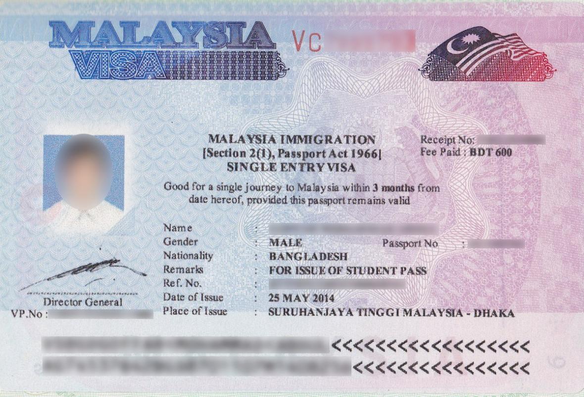 آشنایی با نحوه دریافت ویزای مالزی