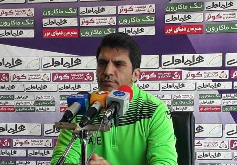 علیرضا امامی فر: نمی خواهیم سپیدرود؛ صبای قم، پاس همدان یا برق شیراز گردد، پرسپولیس تاکتیکی ترین تیم لیگ است
