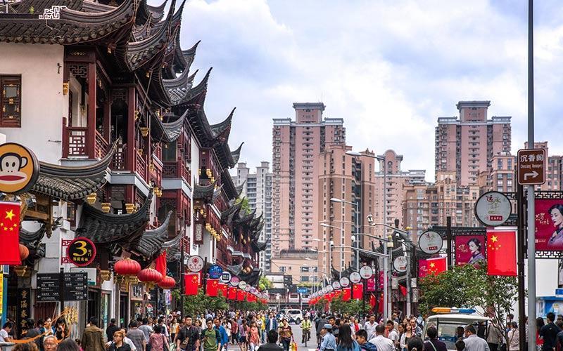 آشنایی با خیابان یویوآن (Yuyuan) شانگهای