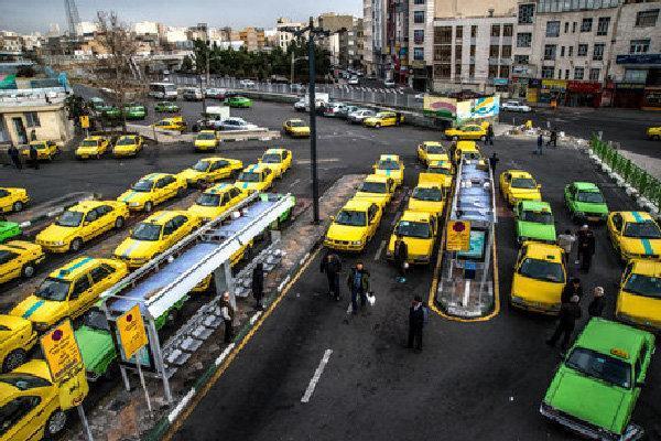 لغو مجوز ورود به طرح ترافیک تاکسی های فاقد پروانه هوشمند