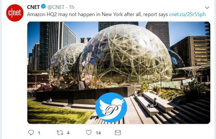 دفتر مرکزی دوم آمازون در نیویورک نخواهد بود