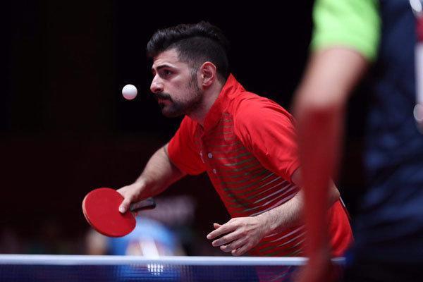 شروع تمرینات پینگ پنگ بازان ایران در محل مسابقات قهرمانی دنیا