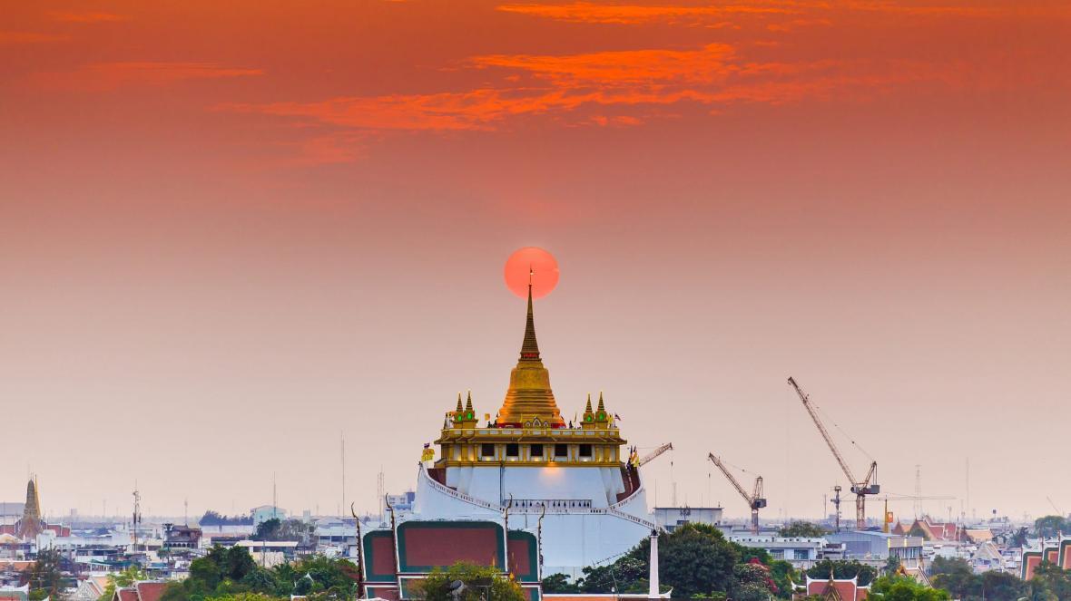 آشنایی با معبد وات ساکت بانکوک در تور تایلند
