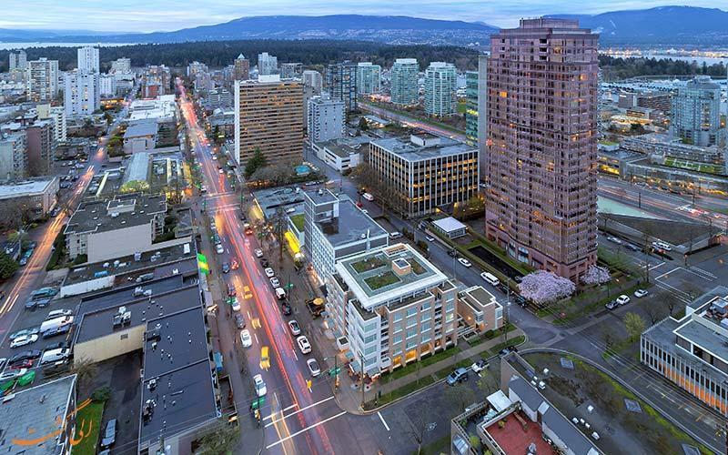 راهنمای گشت و گذار در خیابان رابسون ونکوور کانادا