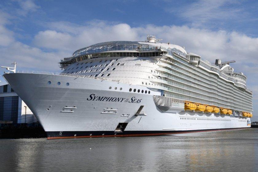 بزرگترین کشتی کروز جهان در تدارک برای سفر به مدیترانه
