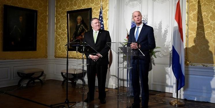ایران از محورهای رایزنی پامپئو و وزیر خارجه هلند