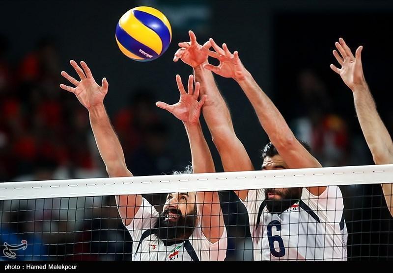 دیدار محبت آمیز والیبال، ایران مقابل کانادا باخت، سومین پیروزی متوالی آمریکا