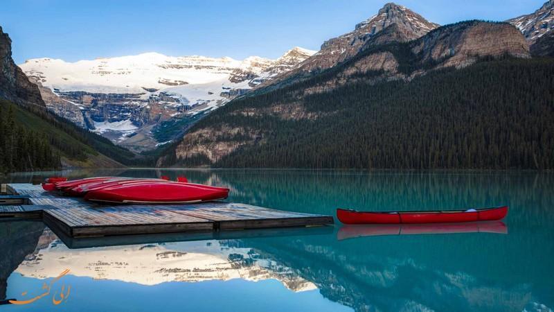 پارک ملی بنف در کانادا