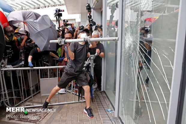 هشدار چین به آشوبگران در هنگ کنگ؛ با آتش بازی کنید، نابود می شوید