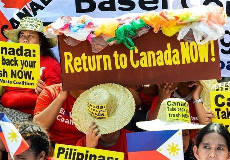 فیلیپین زباله های کانادا را برمی گرداند