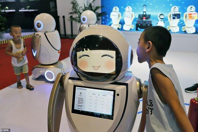 جولان روبات ها در کنفرانس جهانی روبات 2019 چین