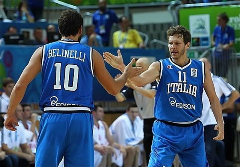 ایتالیا بدون شکست به دور دوم رسید