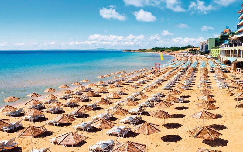 منطقه سانی بیچ در بلغارستان، ارزان ترین ساحل اروپایی!