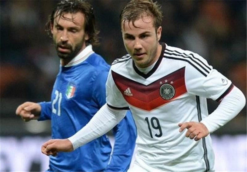 تساوی ایتالیا و آلمان با گلزنی 2 مدافع، سانچس انگلیس را در ومبلی سرافکنده کرد
