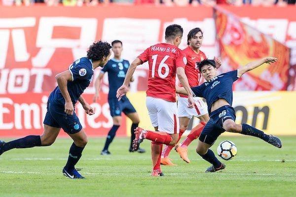 توقف گوانگژوی چین برابر بوریرام تایلند