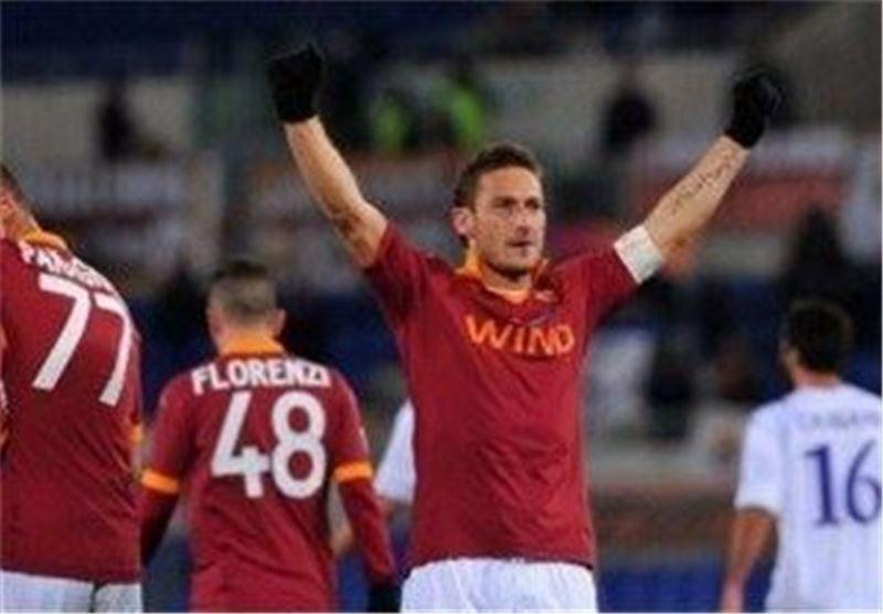 پیروزی خانگی رم برابر جنوا