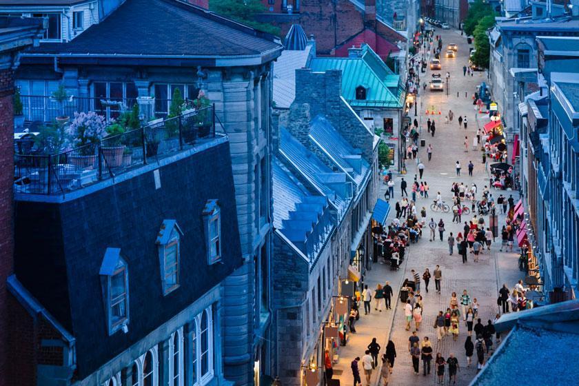 خیابانی برای عاشقان غذا؛ مونترآل، کانادا