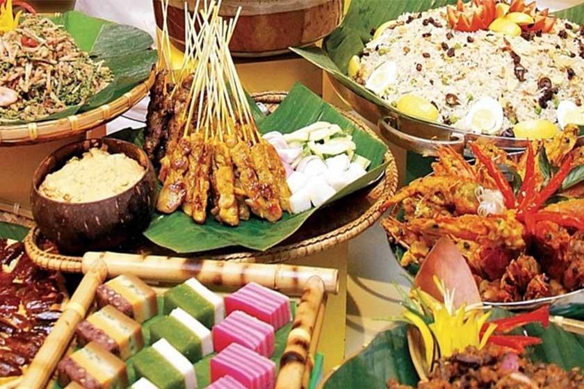 رنگین کمان غذا در سفره افطار آسیا ؛ مالزی و سنگاپور