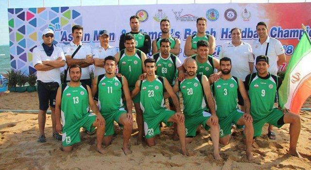 سومی هندبال ساحلی در آسیا، راه یابی ایران به رقابت های جهانی 2018
