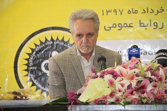 مدیرعامل سپاهان: حقوق بلد هستیم، از تهدید پرسپولیسی ها نمی ترسم، ادعایم روی صحبت بازیکن خودشان است