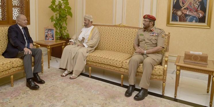 ملاقات ابوالغیط با وزرای خارجه و دفاع عمان