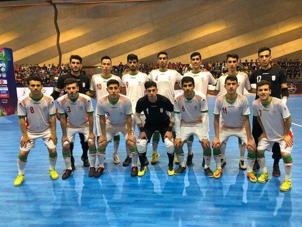 پیروزی پرگل تیم فوتسال جوانان ایران مقابل تیم ملی مالزی