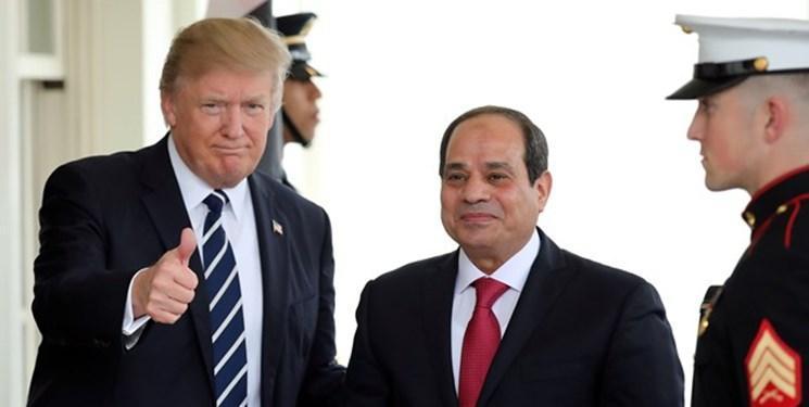 السیسی برای جلوگیری از اعزام نیروهای ترکیه به لیبی از ترامپ یاری خواست