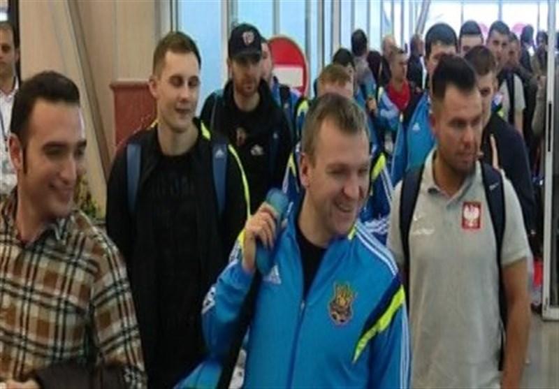 تیم های فوتبال ساحلی ایتالیا، اوکراین و لهستان وارد بوشهر شدند