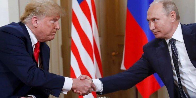 درخواست پوتین از ترامپ طی پیغام تبریک سال نو میلادی