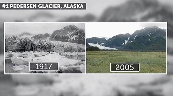 تغییرات چشمگیر در زمین که توسط ناسا آشکار شدند