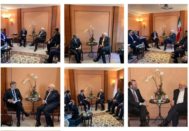 دیدارهای فشرده دیپلماتیک ظریف در مونیخ