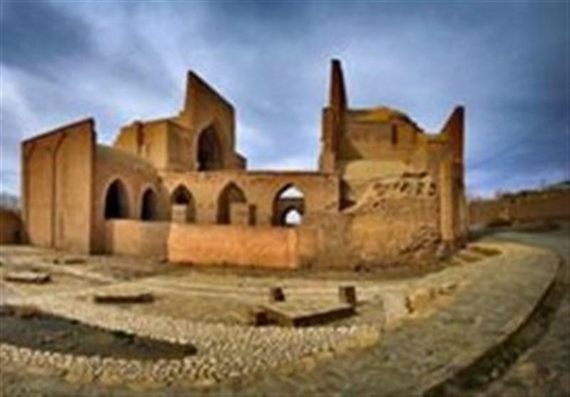 مسجد جامع تاریخی 700 ساله فرومد سمنان مرمت شد