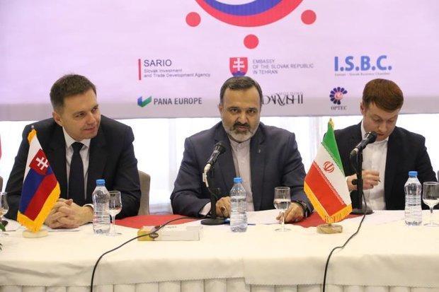 نشست فعالان مالی اسلواکی و ایران در مشهد برگزار گردید