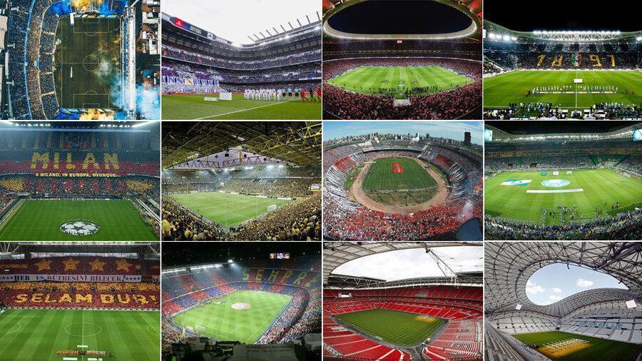 تصاویر هوایی شگفت انگیز از 3 استادیوم میزبان جام جهانی 2022 قطر