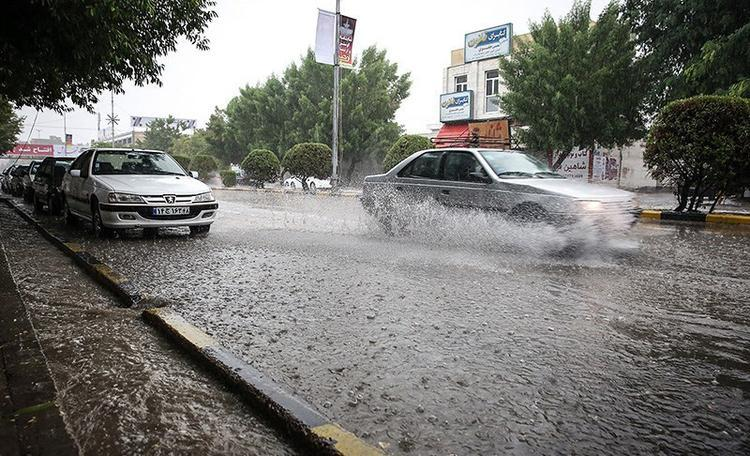 هشدار وقوع سیلاب در 5 استان طی امروز