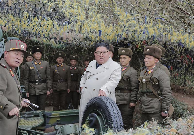 شروع تحرکات نظامی کره شمالی در مرز با سئول