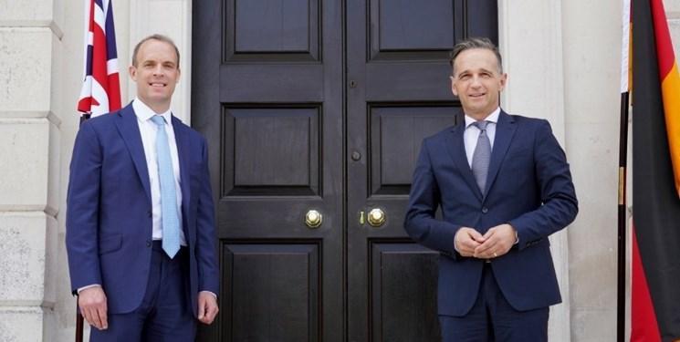ملاقات وزرای خارجه انگلیس و آلمان با موضوع ایران