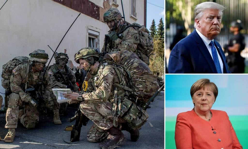 خبرنگاران خروج نیروهای آمریکایی از آلمان؛ گسست روابط با اروپا