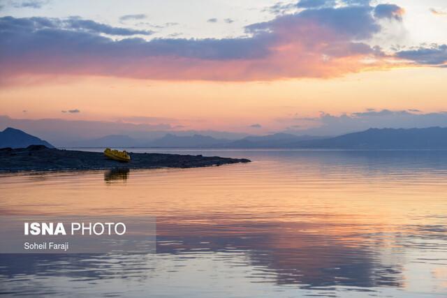 کاهش 4 سانتیمتری تراز اکولوژیک دریاچه ارومیه