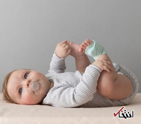 جوراب هوشمند که سلامت بچه ها را رصد می کند