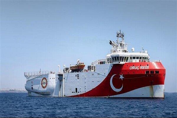 رزمایش ترکیه در شرق مدیترانه شروع شد