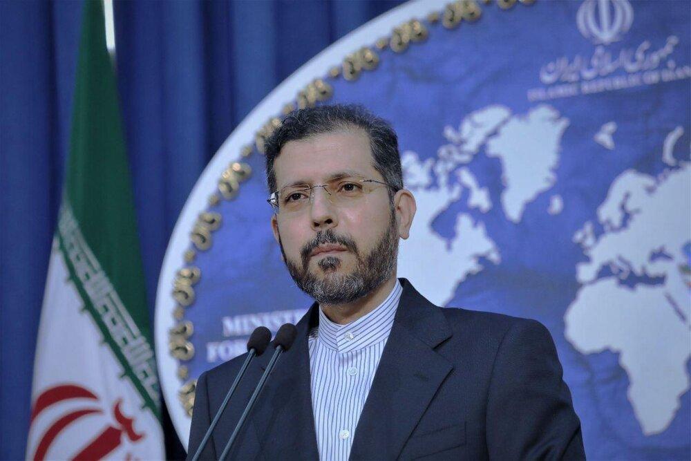خطیب زاده: ایران اجازه استقرار تروریست ها در مناطق همجوار مرزهای شمالی خود را نمی دهد