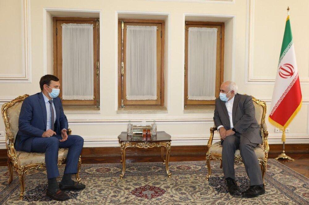 در ملاقات معاون وزیرخارجه اوکراین با ظریف چه گذشت؟