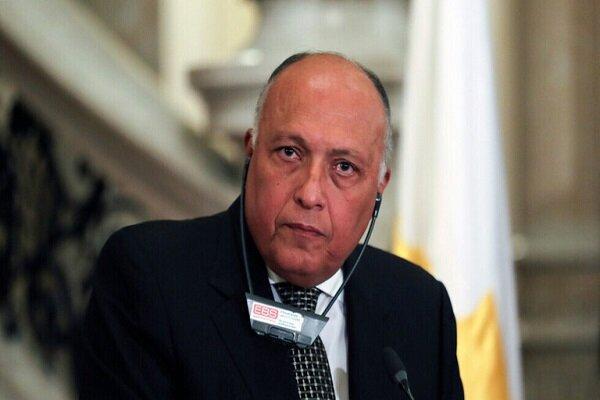 ابراز امیدواری وزیر خارجه مصر برای حل بحران قطر با کشورهای عربی