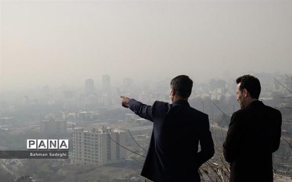 سه عامل آلودگی هوای تهران در ایام کرونا