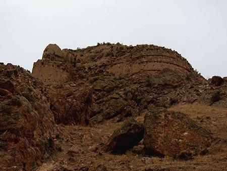 قلعه نودوز یا نقدوز؛ از قلعه های تاریخی منطقه ارسباران، عکس