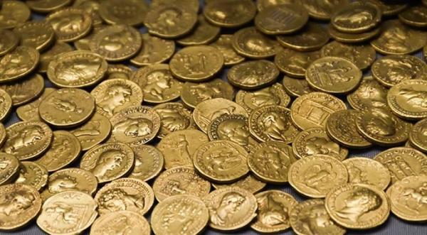 کشف 1300 قطعه گنج مدفون شده در انگستان