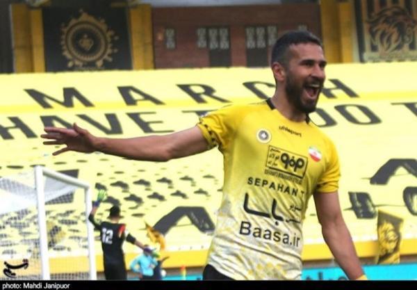 لیگ برتر فوتبال، فزونی یک نیمه ای سپاهان مقابل صنعت نفت