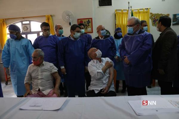 20 هزار سالمند و معلول در کشور واکسن کرونا دریافت می کنند خبرنگاران