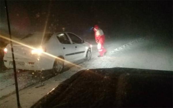 امدادرسانی به بیش از 1500 نفر در پی برف و کولاک